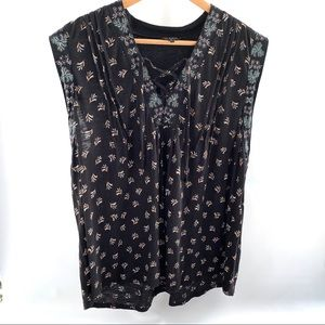 Lucky Brand XL Sleeveless Top
